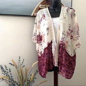 Kimono wrap by Altar'd State size small